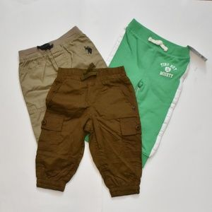 Bundle of 3 size 12 Months Baby Boy Pants
